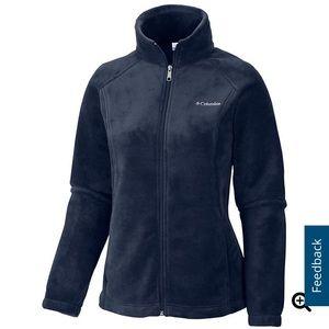Columbia Women's Full-Zip Fleece Jacket Navy S